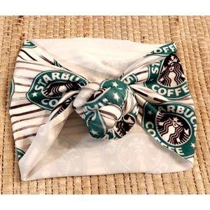Other - Starbucks top knot headband